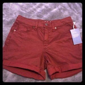 Maroon shorts NWT
